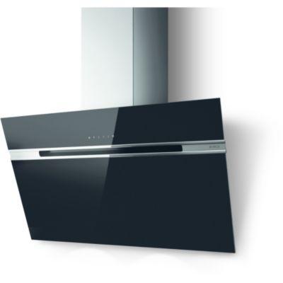 elica hotte d corative murale stripe bl a 90 lx electrom nager. Black Bedroom Furniture Sets. Home Design Ideas