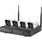 Caméra de sécurité Comelit Kit 4 Caméras et enregistreur WIKIT080A