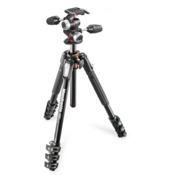Manfrotto MK190XPRO4-3W + Rotule 3D