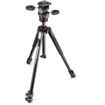 Manfrotto 190X3 + Rotule MH804-3W