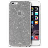 Coque Puro iPhone 6/6s Glitter shine Silver