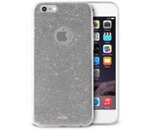 Coque Puro iPhone 6/6s Glitter shine Silver