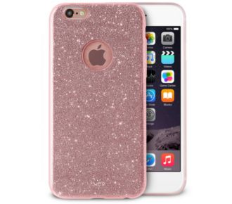 Puro iPhone 6/6s Glitter Shine rose