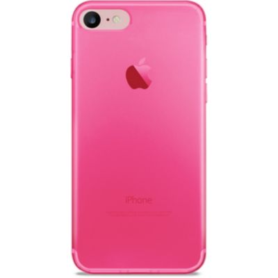 coque rose fluo iphone 7