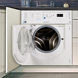 Lave linge séchant hublot encastrable Indesit  BIWDIL75125EU
