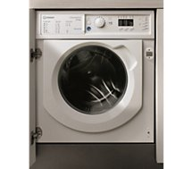 Lave linge séchant hublot encastrable Indesit  BIWDIL861484EU