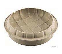 Moule à gâteau fantaisie Silikomart  Eleganza 25 cm gris 3D