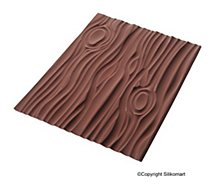 Tapis de cuisson Silikomart  silicone Magic Wood 25 x 18.5 cm