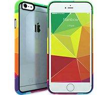 Coque Ipaint iPhone 6 Rainbow transparente