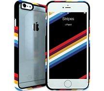 Coque Ipaint iPhone 6 Stripes transparente
