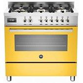 Piano de cuisson mixte Bertazzoni PRO 90 6 MFE S GI T