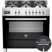 Piano de cuisson mixte Bertazzoni PRO 90 6 MFE S NE T