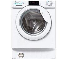 Lave linge séchant hublot encastrable Candy  CBD 485D1E/1-S