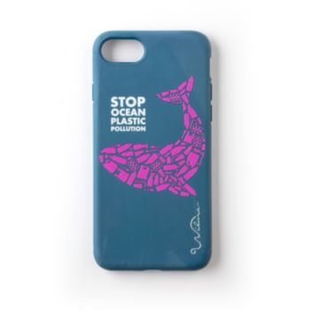 Wilma iPhone 6s/7/8 Recyclée bleu foncé
