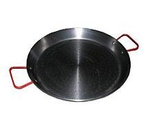 Plat à paëlla Atelier Cuisine  diam 40cm Valence acier poli - Induction