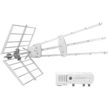 Televes Kit TRIO + antenne amplifiée 38 dB