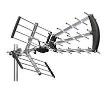 Antenne extérieure Astrell  Antenne trinappe à fiche F 20 dB