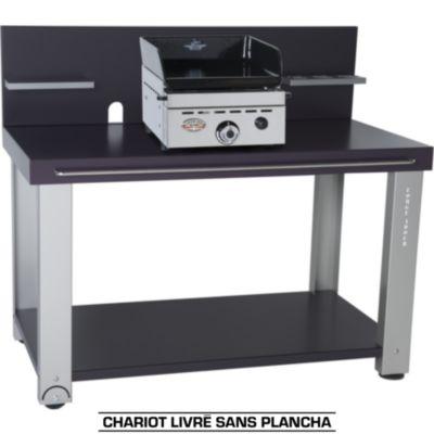 Plancha gaz vos achats sur boulanger - Table roulante pour plancha ...