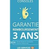 Garantie Rembt cons. sal. 3 ans<200 EUR