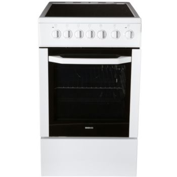 beko css57100gw cuisini re vitroc ramique boulanger. Black Bedroom Furniture Sets. Home Design Ideas