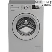 Lave linge compact Beko WTE6611SY (Silver)