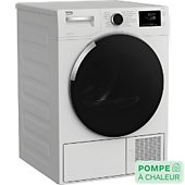 Sèche linge pompe à chaleur Beko BDS8534W