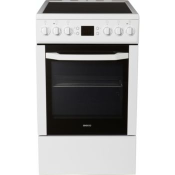 beko cse57302gw cuisini re vitroc ramique boulanger. Black Bedroom Furniture Sets. Home Design Ideas