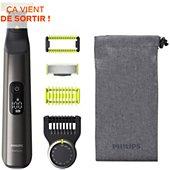 Tondeuse barbe Philips OneBlade Pro Visage & Corps QP6550/15
