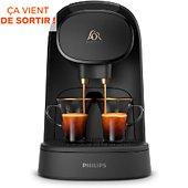 Cafetière à dosette Philips LM801263 L OR BARISTA NOIR MAT