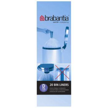 Brabantia 15L - 20 sacs - D