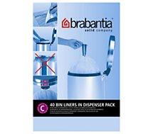 Dérouleur Brabantia  12L- 40 sacs - C
