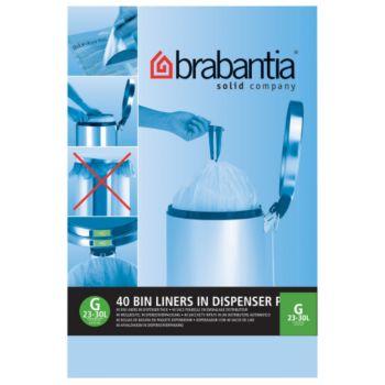 Brabantia 30L - 40 sacs - G