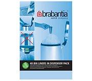 Brabantia sacs poubelle 30L(40sacs/distributeur)