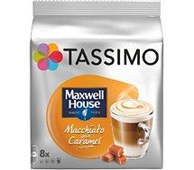Dosette Tassimo Tassimo Café Maxwell House Macchiato Caramel X8