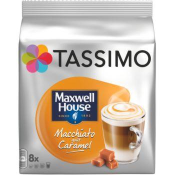 Tassimo Café Maxwell House Macchiato Caramel X8
