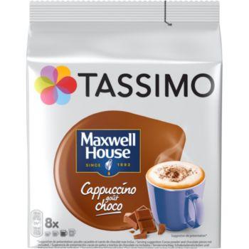 Tassimo Café Maxwell House Cappuccino Choco X8