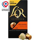 Capsules L'or Espresso Café Delizioso 5 X10