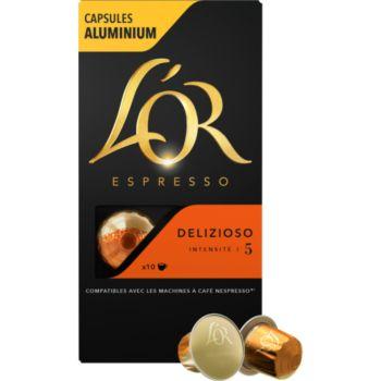 L'or Espresso Café Delizioso 5 X10
