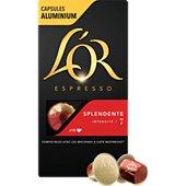 Capsules L'or Espresso Café Splendente 7 X10