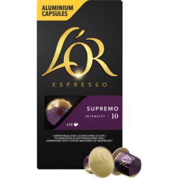 L'or Espresso Café Supremo 10 X10