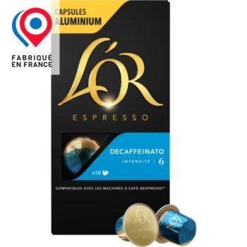 L'or Espresso Café Decaféinato 6 X10