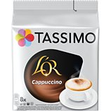 Dosettes exclusives Tassimo  Café L'OR Cappuccino X16
