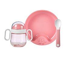 Coffret repas Mepal  bebe mio 3 pcs  deep pink