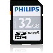 Carte SD Philips SDHC CLASS 10 32Go