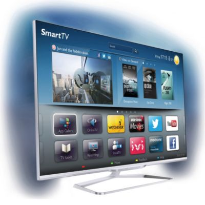 TV LED Philips 47PFL7108H 3D Smart TV 700 Hz PMR