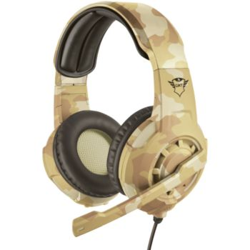 Trust GXT 310 Radius headset Desert
