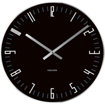 Present Time Slim Index Small verre noir