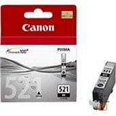 Cartouche d'encre Canon CLI-521 Noire photo