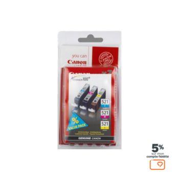 Canon CLI-521 3 couleurs CMJ