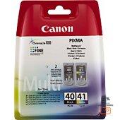 Cartouche d'encre Canon Pack PG40/CL41